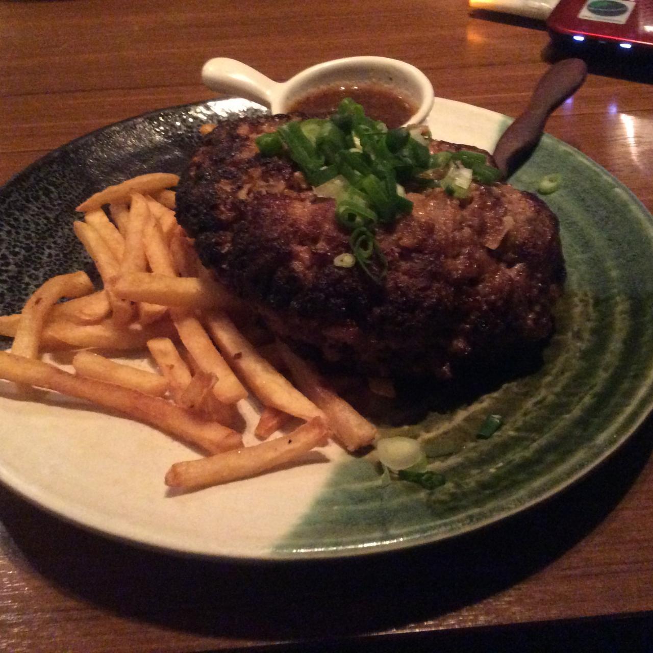ゆにおん食堂(ハンバーグ450)