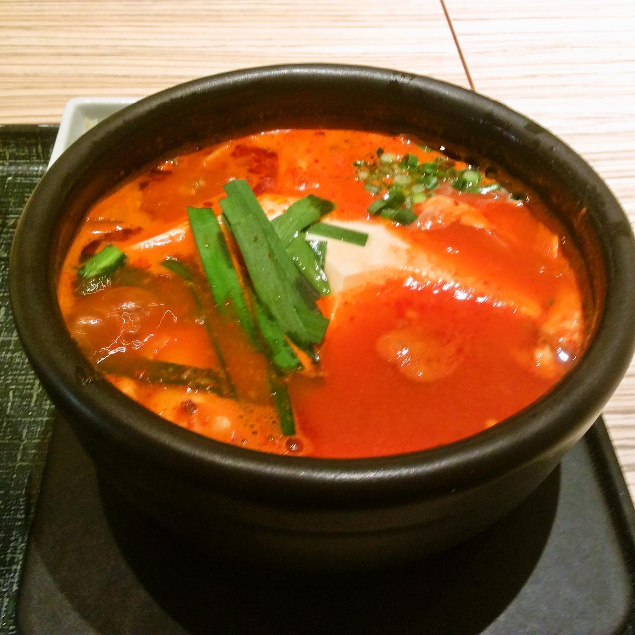 東京純豆腐ノクティプラザ店(酸辣スンドゥブ)