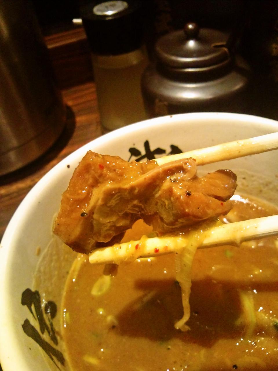 麺屋武蔵武骨外(濃厚つけ麺)