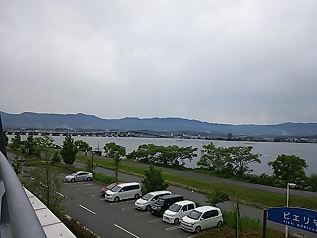 ピエリ守山201505琵琶湖大橋