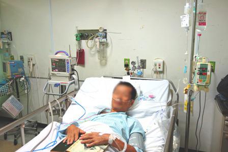 手術一日後DSC03933