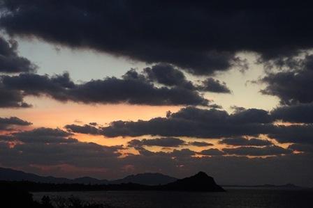 今年最後の夕焼け(日没後)DSC02854