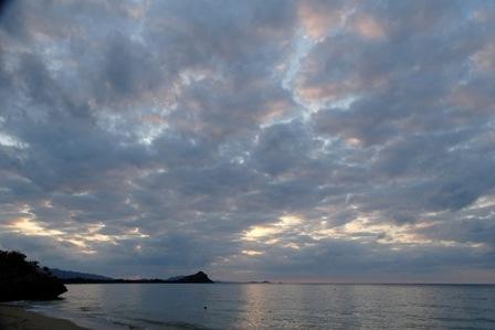 日没時の雲DSC02973