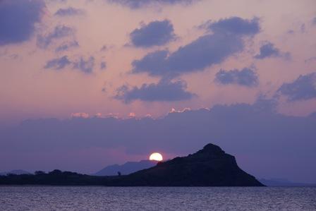 夕陽1月10日18時05分P1010045