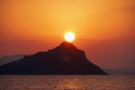 夕陽1月23日18時10分P1010402