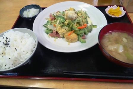 ゴ~ヤチャンプル~ DSC05879