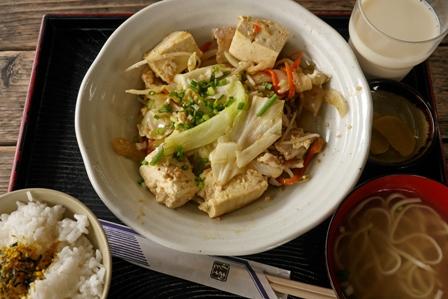 豆腐チャンプル~ P1030800