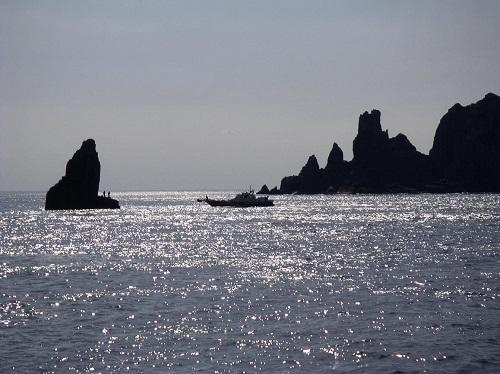 男女群島帆立岩