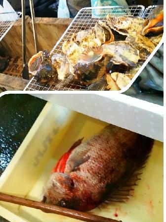 牡蠣&タイ