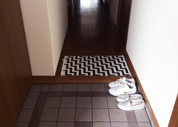 玄関の整理