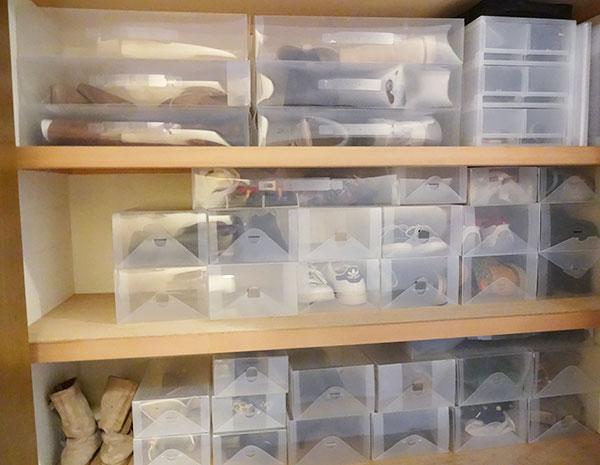 靴の整理と収納