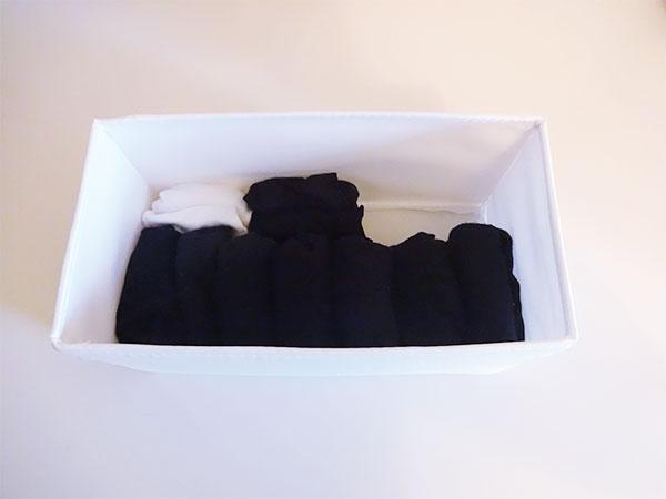 靴下類の収納
