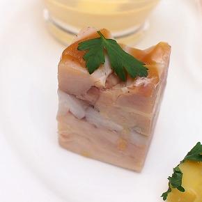 鶏もも肉と里芋のブレッセ02@東京ベイ舞浜ホテル FINE TERRACE 2014年12月