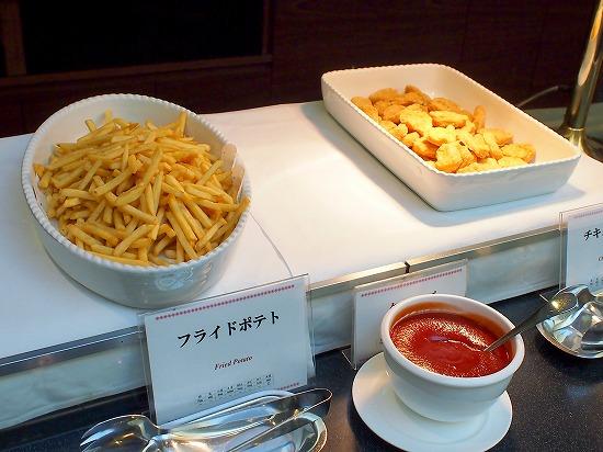 フライドポテト&チキンナゲット@東京ベイ舞浜ホテル FINE TERRACE 2014年12月