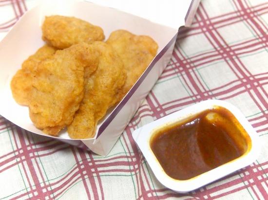 チキンマックナゲット ジャーマンカレーソース03@McDonalds