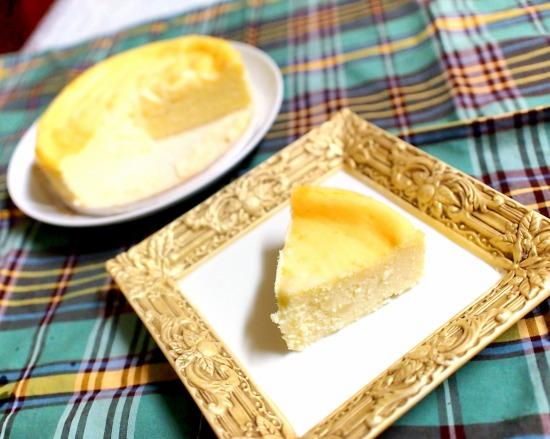 花畑牧場 チーズ工房の無添加チーズケーキ ~十勝ゴールデンゴーダ~07@花畑牧場