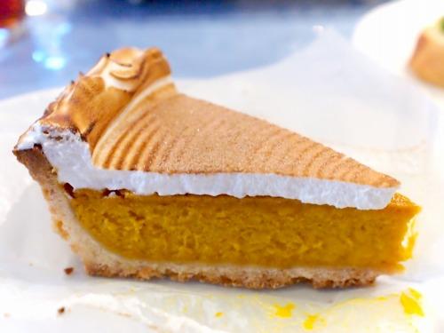 かぼちゃのタルト02@MACARONI MARKET 2015年01月