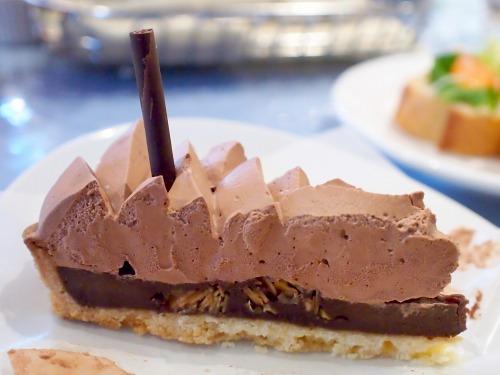 チョコレートタルト02@MACARONI MARKET 2015年01月