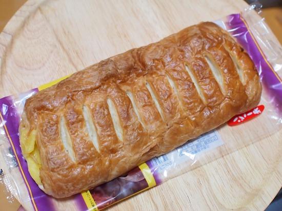 大きなスイートポテトデニッシュ02@㐧一パン