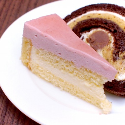 イチゴとホワイトチョコのムース02@東京ベイ舞浜ホテル FINE TERRACE 2015年02月