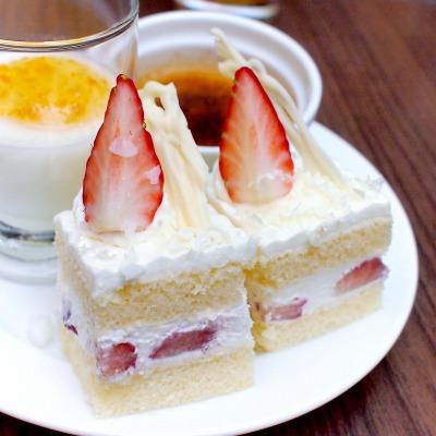 イチゴのショートケーキ02@東京ベイ舞浜ホテル FINE TERRACE 2015年02月