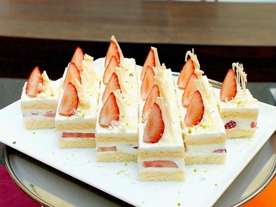イチゴのショートケーキ01@東京ベイ舞浜ホテル FINE TERRACE 2015年02月