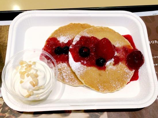 ハワイアン パンケーキ ミックスベリー02@McDonalds