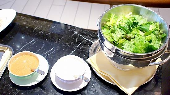 グリーンサラダ01@Sheraton Grande Tokyo Bay Hotel tostina 2015年03月