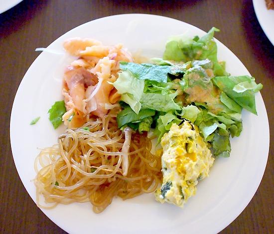 サラダ01@Sheraton Grande Tokyo Bay Hotel tostina 2015年03月
