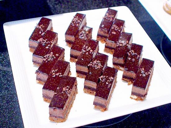 チョコレートムースケーキ01@Sheraton Grande Tokyo Bay Hotel tostina 2015年03月
