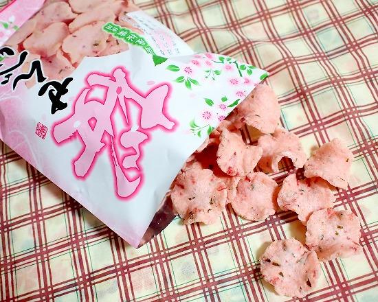 桜せんべい02@イケダヤ製菓