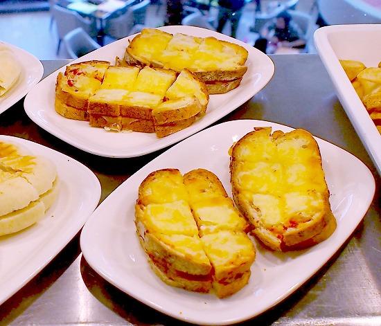 チキンとトマトのクロックムッシュ01@Sheraton Grande Tokyo Bay Hotel tostina 2015年03月