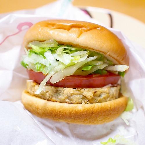期間限定 ソイ野菜バーガー オーロラソース02@MOS BURGER