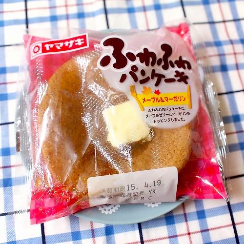 ふわふわパンケーキ メープル&マーガリン01@ヤマザキ