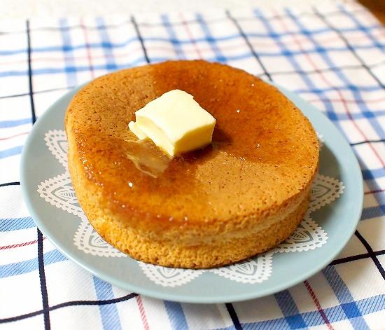 ふわふわパンケーキ メープル&マーガリン02@ヤマザキ