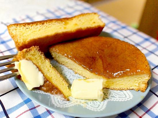 ふわふわパンケーキ メープル&マーガリン05@ヤマザキ
