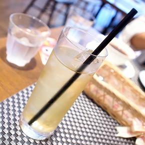 アップルジュース@baby Moncher Cafe