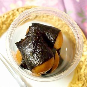 チーズ入り風味豊かな有明海苔の いそべ餅カップ入り02@Chateraise