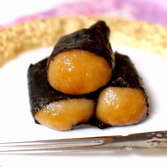 チーズ入り風味豊かな有明海苔の いそべ餅カップ入り05@Chateraise
