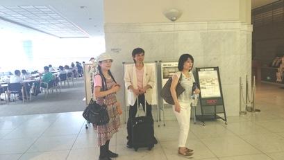名古屋 先生と智さん ひなちゃん