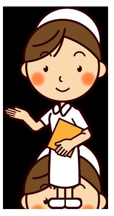 看護士さんと和み イラスト