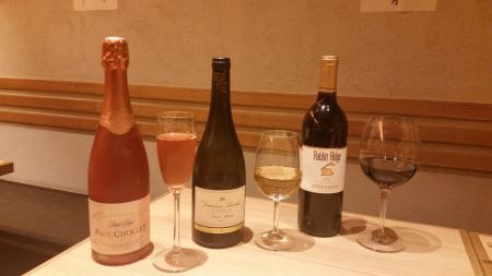 春グラスワイン