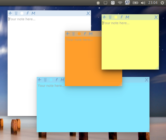 Sticky Notes Chromeアプリ 付箋 デスクトップ
