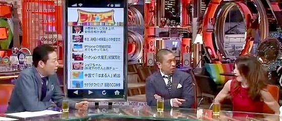 ワイドナショー画像 東野幸治&松本人志にツッコまれるYOU