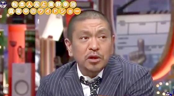 ワイドナショー画像 みのもんたの復帰について語る松本人志