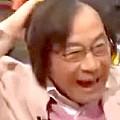 ワイドナショー画像 オープニングでおどける武田鉄矢