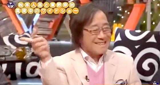 ワイドナショー画像 またまた冗談をという表情の武田鉄矢