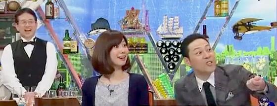 ワイドナショー画像 東洋ゴム偽装問題 松本人志のヘンな例えに突っ込む東野幸治