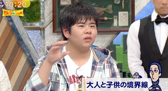 ワイドナショー画像 まえだまえだ・兄(前田航基)が18歳選挙権を語る