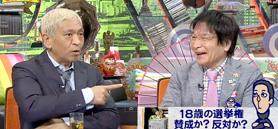 ワイドナショー画像 尾木ママにツッコむ松本人志